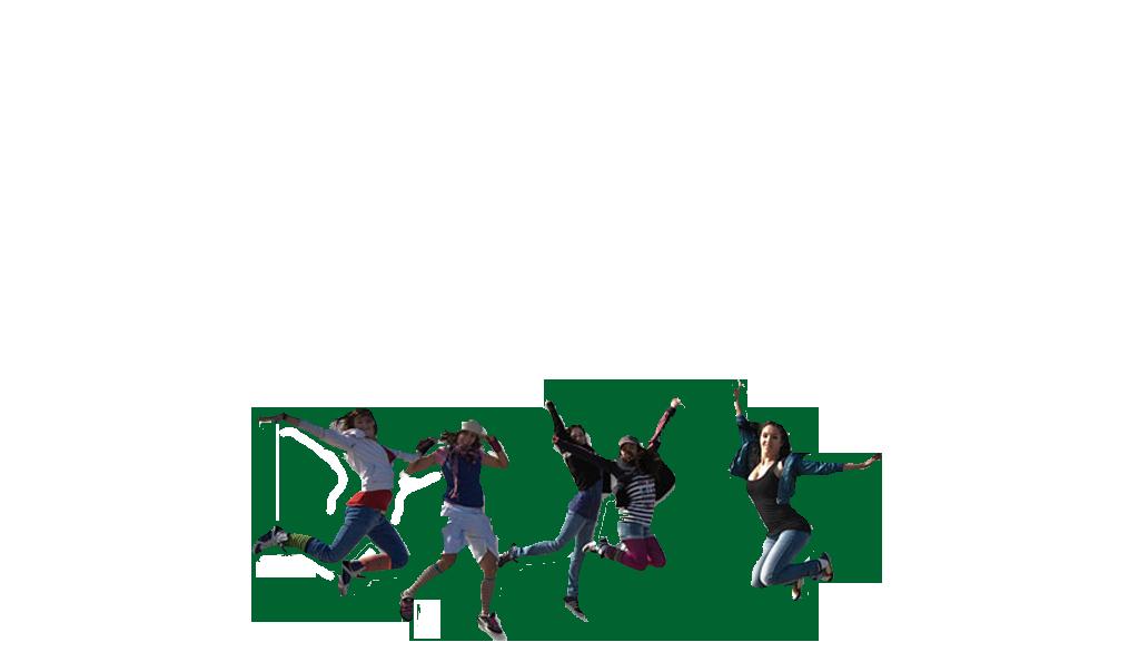 chicas saltando